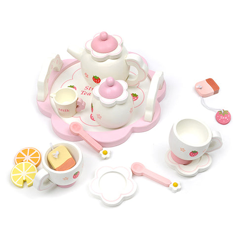 Mother Garden Strawberry Afternoon Tea Set