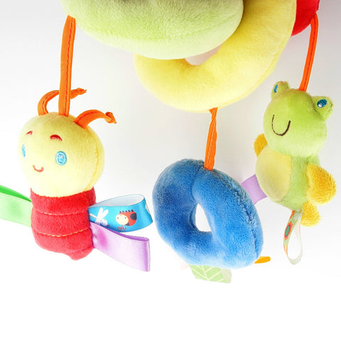 Caterpillar Crib and Stroller Spiral  Toy