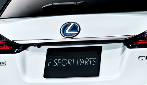 Genuine Lexus Japan 2011-2019 CT Back Door Chrome Garnish Set