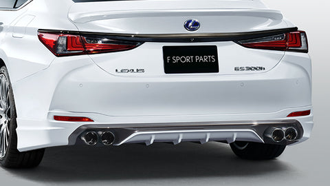 TRD JAPAN 2019 Lexus ES Factory Painted Rear Diffuser Kit and Dual Exhaust System