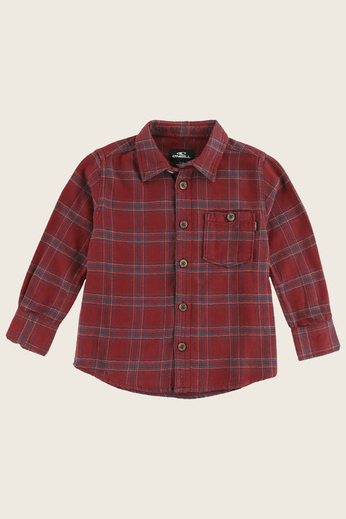 LITTLE BOYS REDMOND FLANNEL SHIRT