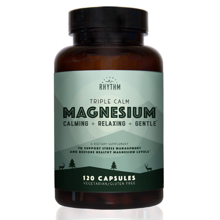 Triple Calm Magnesium - 150mg of Magnesium Taurate, Glycinate, and Malate