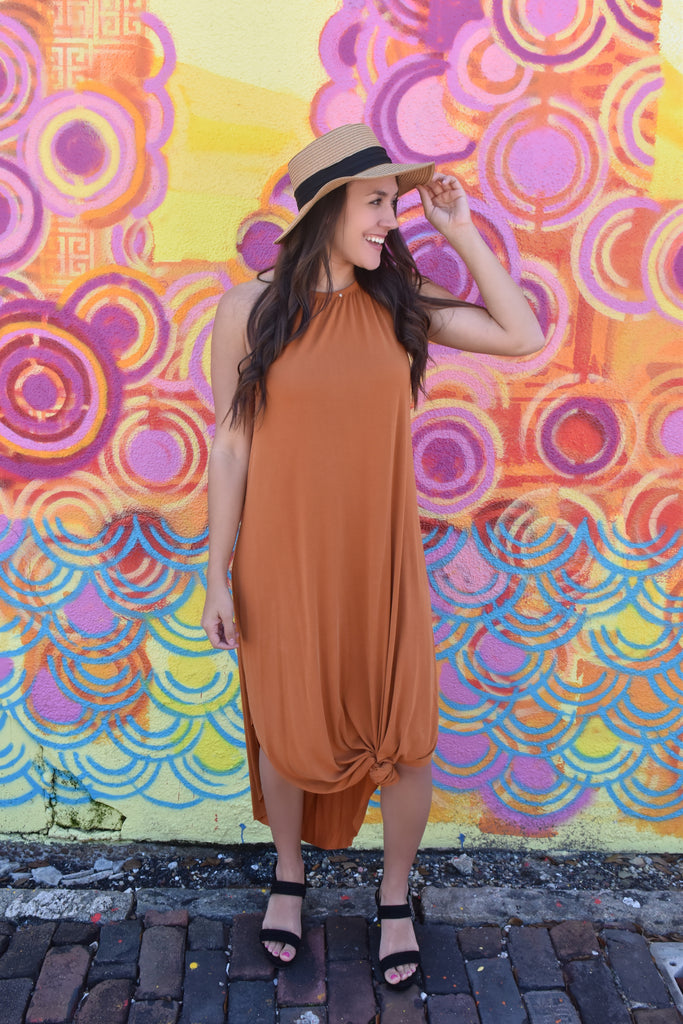 Sanibel Dreams Maxi- Rust