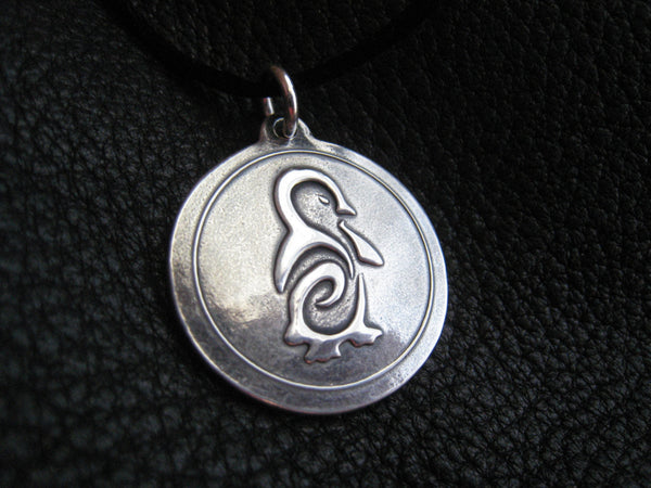 Sterling Silver Pendant with Custom Tattoo Design -EXAMPLE