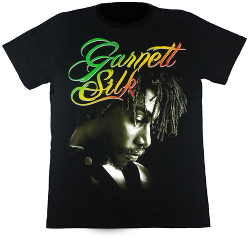 GARNETT SILK - Black T-Shirt
