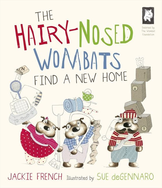 The Hairy Nosed Wombats