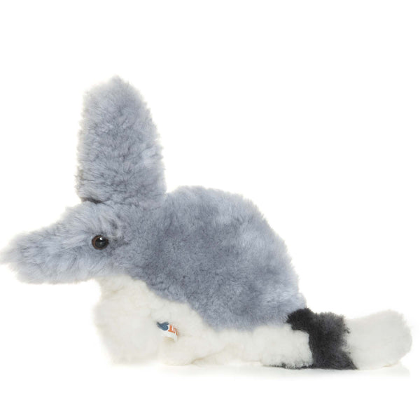 Barry, Bilby Lambskin-Sheepskin Soft Toy Baby Comforter