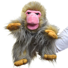 Japanese Macaque Monkey Hand Puppet