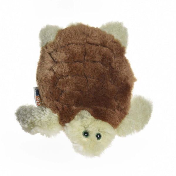 Archelon, Sea Turtle Lambskin-Sheepskin Soft Toy Baby Comforter