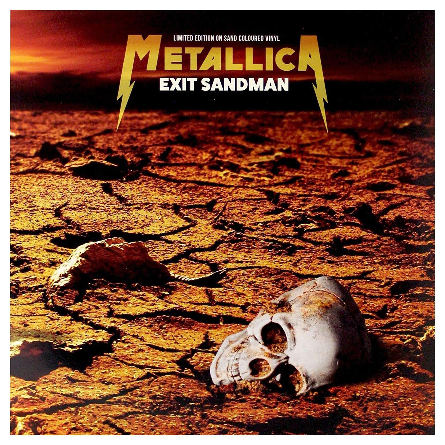 METALLICA - EXIT SANDMAN: LIMITED EDITION ON SAND (COLOURED VINYL) [Vinyl]