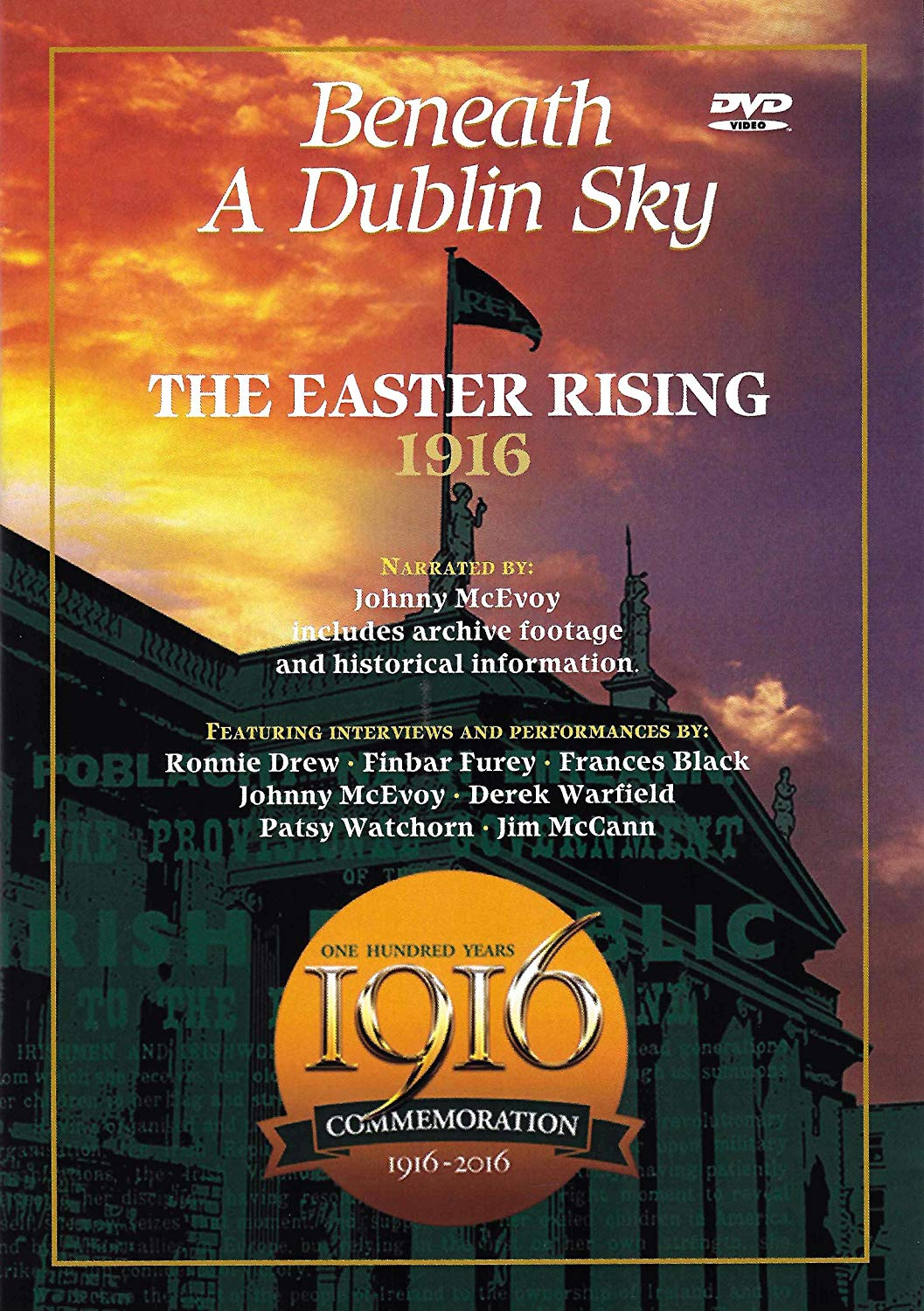 1916 EASTER RISING: BENEATH A DUBLIN SKY [DVD]