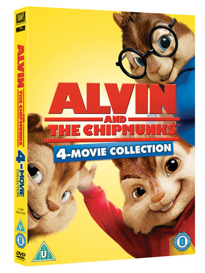 Alvin and the Chipmunks 1-4 - Tim Hill [DVD]
