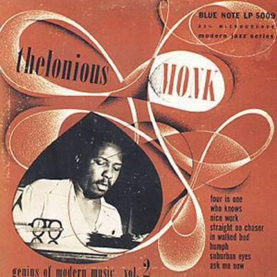 Genius of Modern Music- Volume 2 - Thelonious Monk [CD]