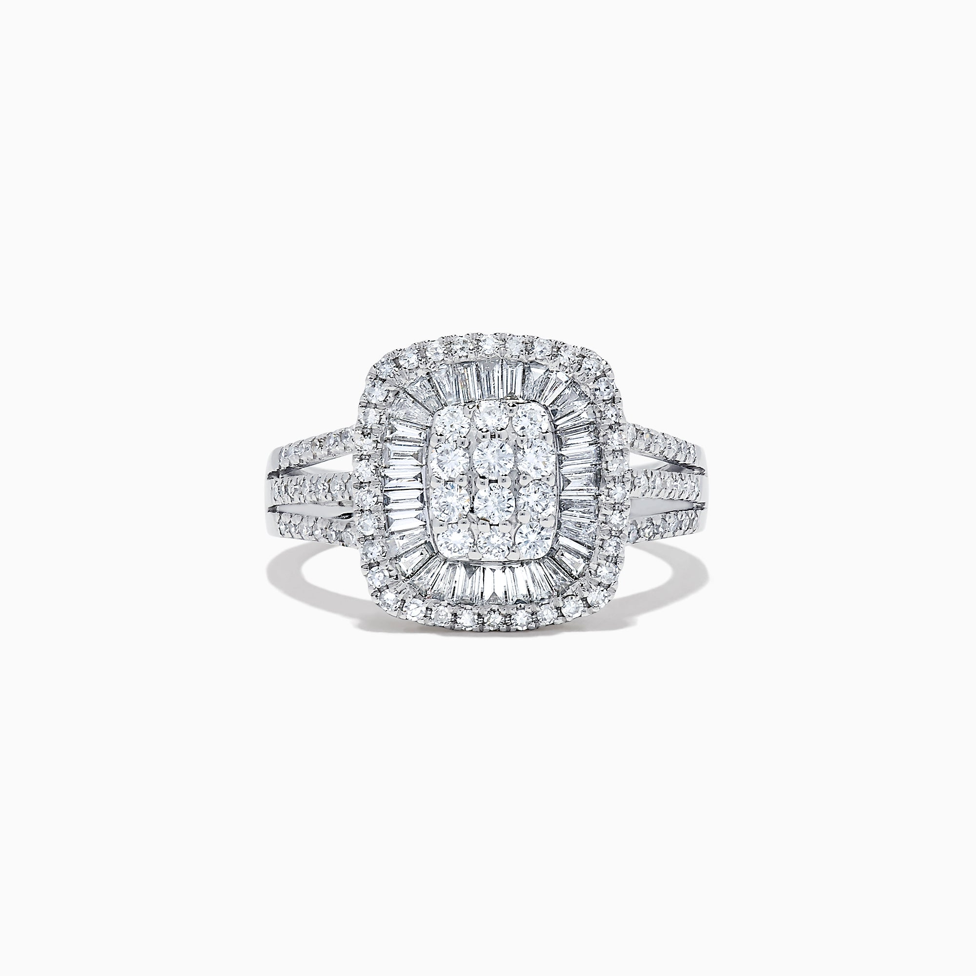 Effy Classique 14K White Gold Diamond Ring, 1.01 TCW