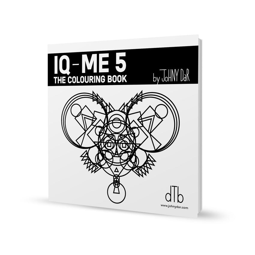 4 x IQ - ME | The colouring book || Set