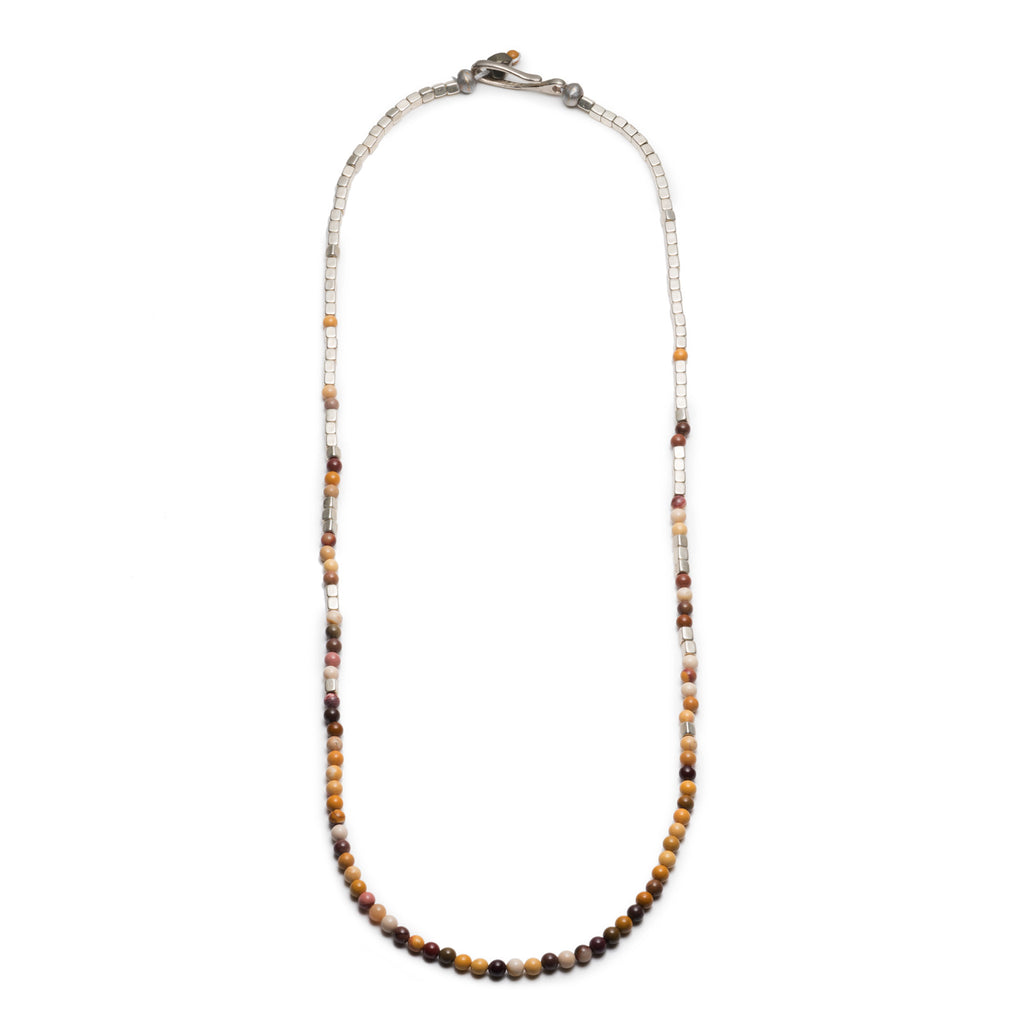 George Frost Merchant Silver & Mookaite Necklace