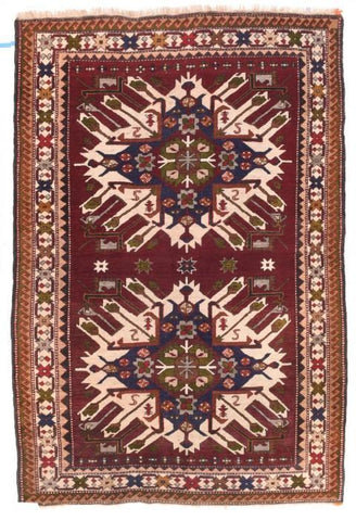 Antique Persian Baluch Rug