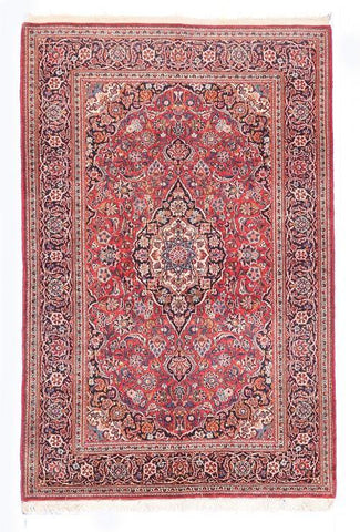 Semi Antique Persian Qum Rug