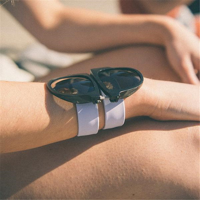 Unique Foldable Snap Sunglasses Summer 2018 Trendy Sunlgasses ROX Accessories Beachy