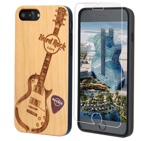 Hard Rock Cafe Guitar Phone Case for iPhone