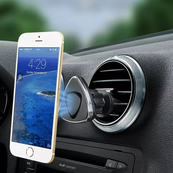 Magnetic Car Mount for iPhone and Galaxy Phones