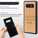 Custom Make Your Own Samsung Galaxy Case by ENGRAVING or COLOR Printing a Picture, LOGO, or Artwork!  Galaxy Note 9 and 8, Galaxy S9+, S9, S7 Edge By iProducts US