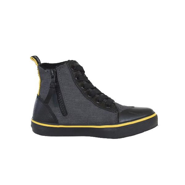 Reflective Kids High Top Shoes by Zapped Outfitters - Side View