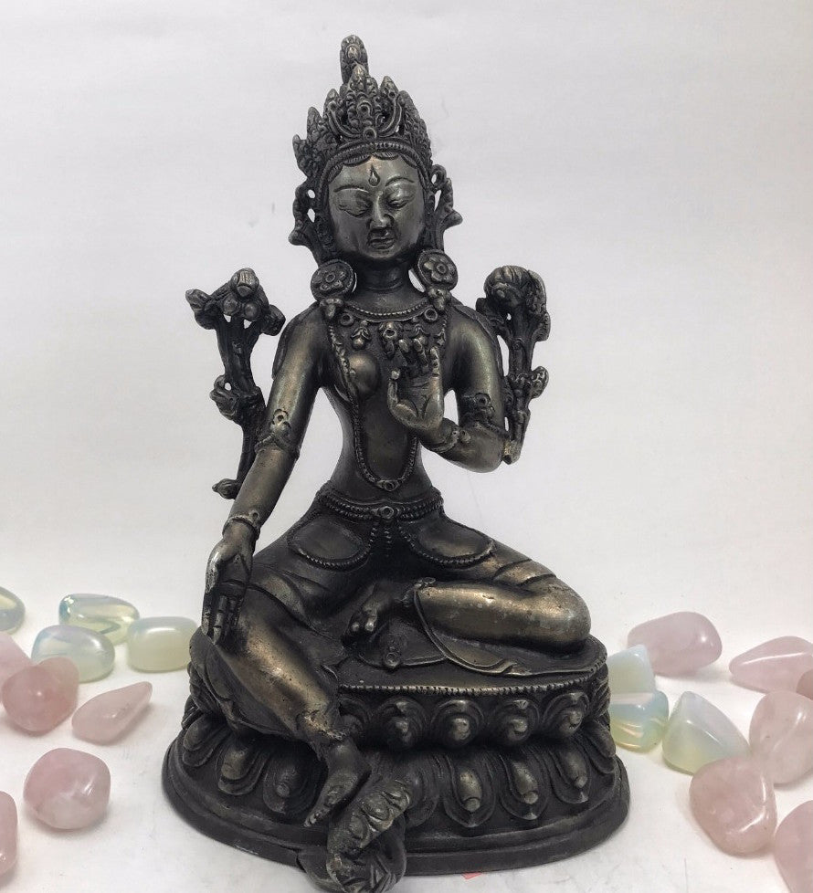 Green Tara: Antique #22