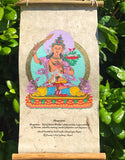 Manjushri Buddha Scroll # 4