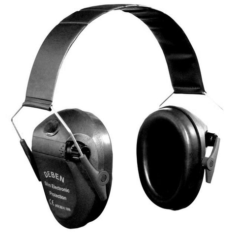 Deben Slim Electronic Ear Defenders - Black