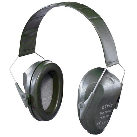 Deben Slim Passive Ear Defenders - Green