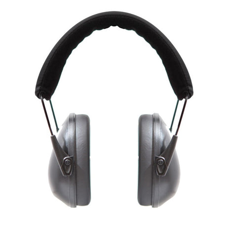 Mack's Shooters Double Up Ear Defenders - Black