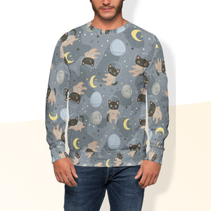 Space Cats Crew Sweatshirt Limited Edition