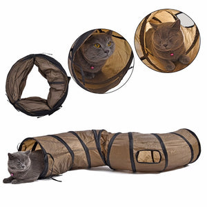 Funny Cat Tunnel Toy - Pets Lovers Store