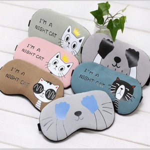 Cute Cat Sleeping Eye Mask