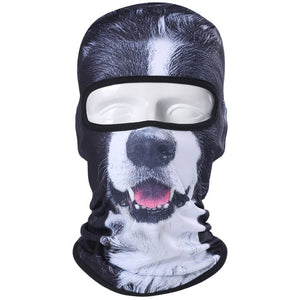 3D Cat Dog Animal Outdoor Mask