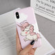 Cute Unicorn iPhone Case