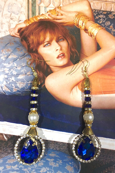 Sapphire - The Immaculate Earring Collection