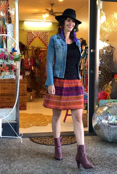 Karmyn Hmong Skirt - Short