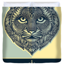 Rubino Spirit Cat - Duvet Cover