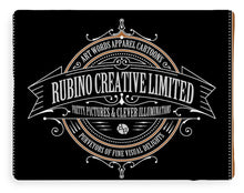 Rubino Vintage Sign - Blanket