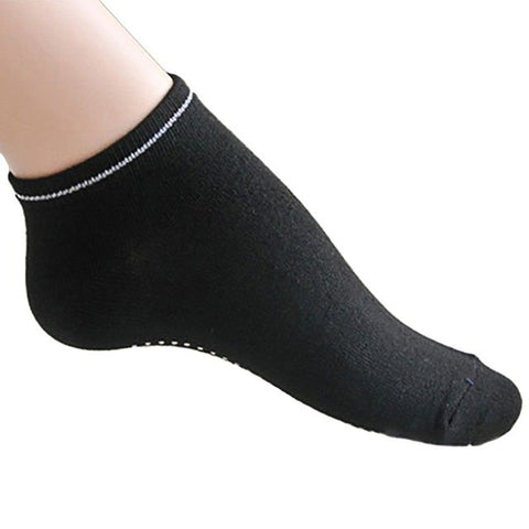 Women Yoga Socks Fitness Cotton Breathable Sport  Anti slip Silicone Gym Socks