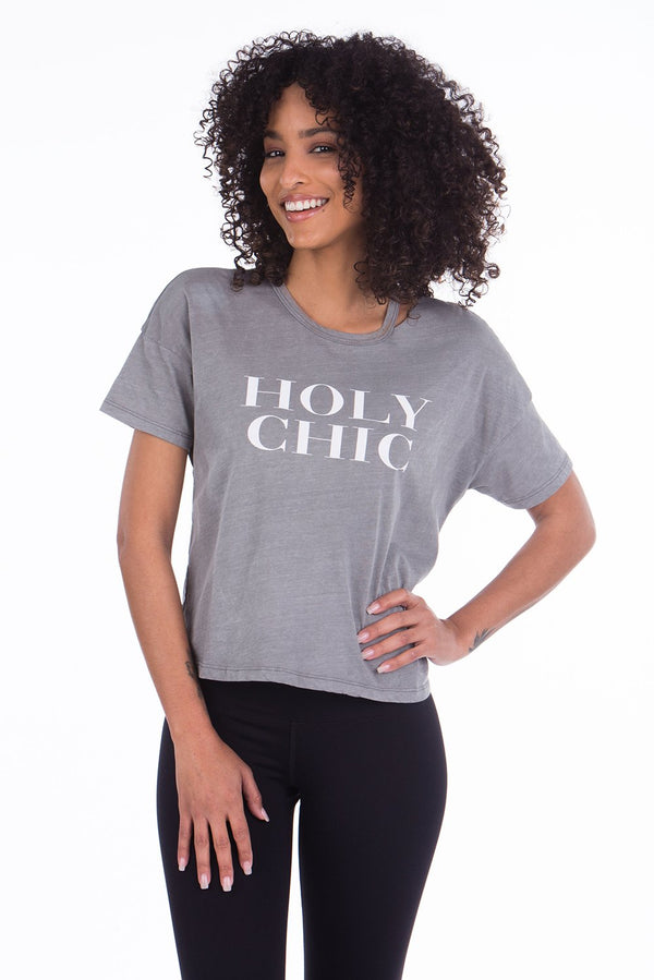 HOLY CHIC SLIT TEE
