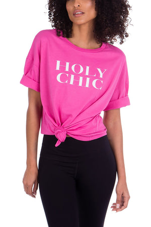 HOLY CHIC BOYFRIEND TEE