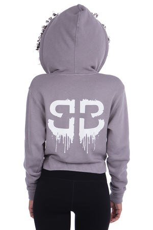 LIMITED EDITION CITY GLAM ZIP HOODIE