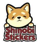Shinobi Stickers