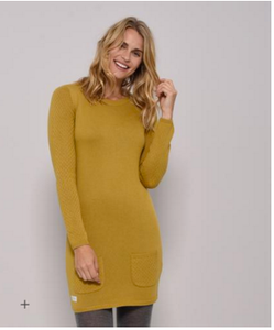 Knitted Tunic Yellow