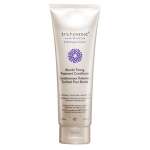 Blonde Toning Treatment Conditioner - Trichovedic