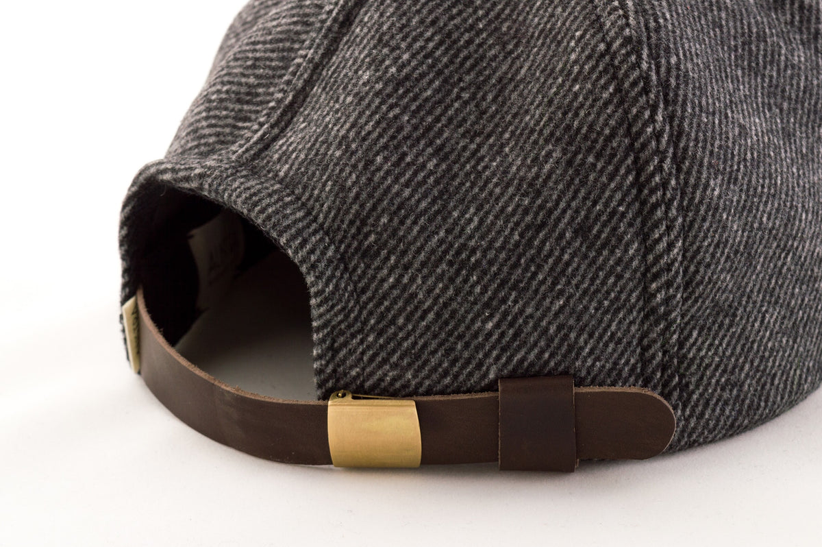 leather buckle hat