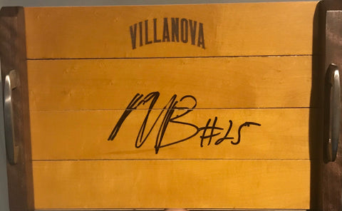 Autographed Serving Tray - Mikal Bridges